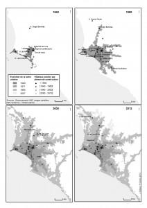 Carte 1 Evolution structures hospitalières FR