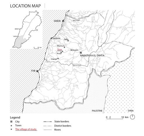 Figure 1 - Location map
